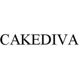 mark for CAKEDIVA, trademark #78492006