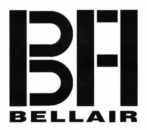 mark for BELLAIR BFI, trademark #78493707