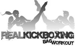 mark for REAL KICKBOXING BAG WORKOUT, trademark #78494286