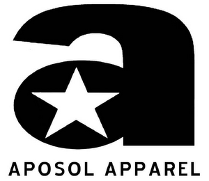 mark for A APOSOL APPAREL, trademark #78494436