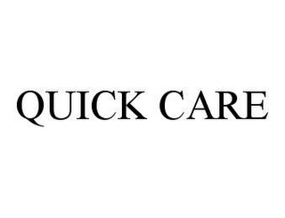 mark for QUICK CARE, trademark #78494853