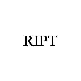 mark for RIPT, trademark #78494958