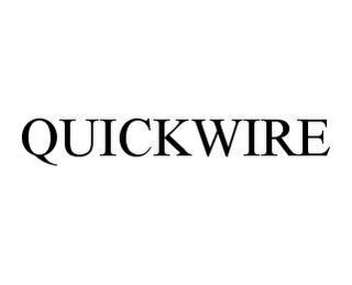 mark for QUICKWIRE, trademark #78495447