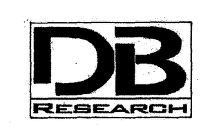mark for DB RESEARCH, trademark #78495481