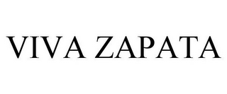 mark for VIVA ZAPATA, trademark #78495494