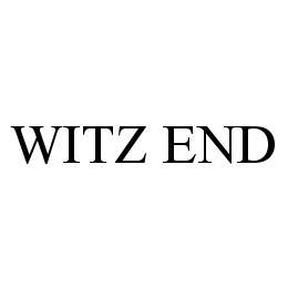 mark for WITZ END, trademark #78495632