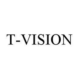 mark for T-VISION, trademark #78495679