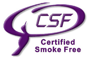 mark for CSF CERTIFIED SMOKE FREE, trademark #78498523