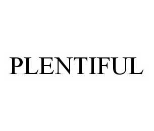 mark for PLENTIFUL, trademark #78498691