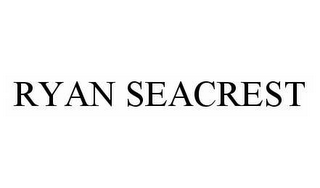 mark for RYAN SEACREST, trademark #78498747