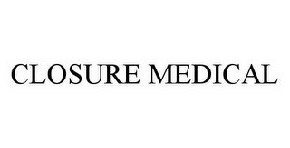 mark for CLOSURE MEDICAL, trademark #78499637