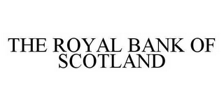 mark for THE ROYAL BANK OF SCOTLAND, trademark #78499941