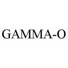 mark for GAMMA-O, trademark #78500733