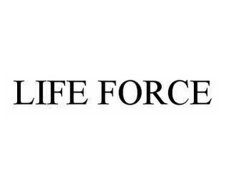 mark for LIFE FORCE, trademark #78501341