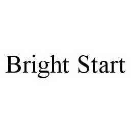 mark for BRIGHT START, trademark #78501848