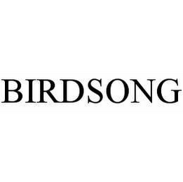 mark for BIRDSONG, trademark #78502781