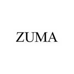 mark for ZUMA, trademark #78502795