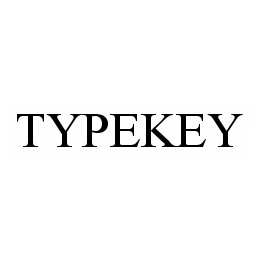 mark for TYPEKEY, trademark #78503211