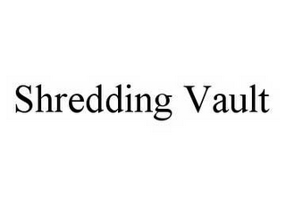 mark for SHREDDING VAULT, trademark #78503589