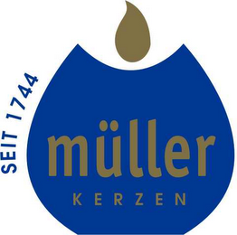mark for SEIT 1744 MÜLLER KERZEN, trademark #78504193