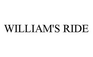 mark for WILLIAM'S RIDE, trademark #78504462