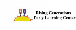 mark for R G RISING GENERATIONS EARLY LEARNING CENTER, trademark #78505070
