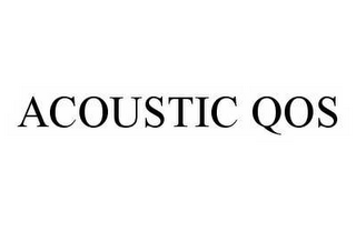 mark for ACOUSTIC QOS, trademark #78505180