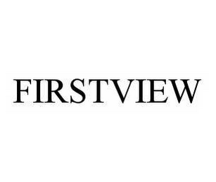 mark for FIRSTVIEW, trademark #78505746