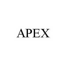 mark for APEX, trademark #78506844