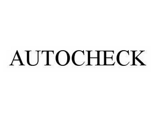 mark for AUTOCHECK, trademark #78506986
