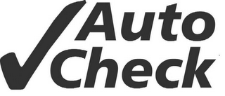 mark for AUTO CHECK, trademark #78507030