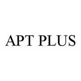 mark for APT PLUS, trademark #78507232