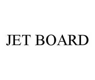 mark for JET BOARD, trademark #78507467