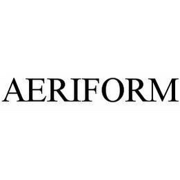 mark for AERIFORM, trademark #78507539