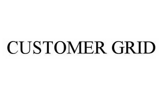 mark for CUSTOMER GRID, trademark #78507940