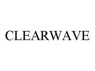 mark for CLEARWAVE, trademark #78508378