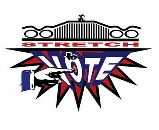 mark for STRETCH TO VOTE, trademark #78508623
