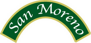 mark for SAN MORENO, trademark #78508924