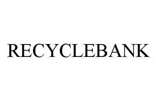 mark for RECYCLEBANK, trademark #78509329