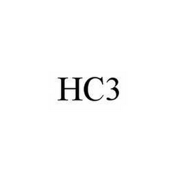 mark for HC3, trademark #78509573