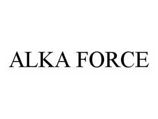 mark for ALKA FORCE, trademark #78509607