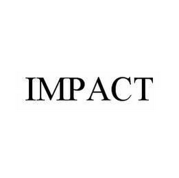 mark for IMPACT, trademark #78509661