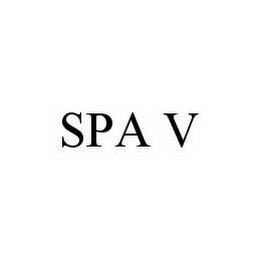 mark for SPA V, trademark #78509711
