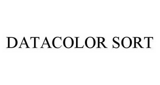 mark for DATACOLOR SORT, trademark #78509833