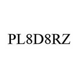 mark for PL8D8RZ, trademark #78509855