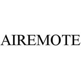 mark for AIREMOTE, trademark #78509919