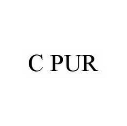 mark for C PUR, trademark #78510399