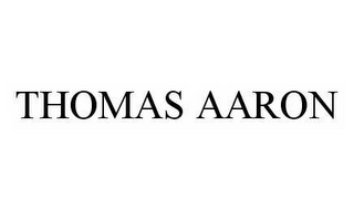 mark for THOMAS AARON, trademark #78510703