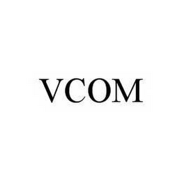 mark for VCOM, trademark #78511194