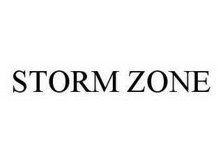 mark for STORM ZONE, trademark #78511274